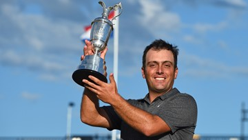 Francesco Molinari wins British Open as Tiger Woods has impressive rally