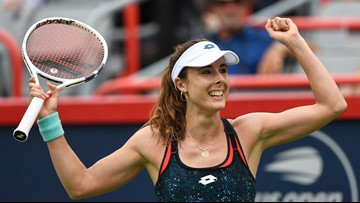 Alize Cornet is surprised her shirt change has blown up at US Open