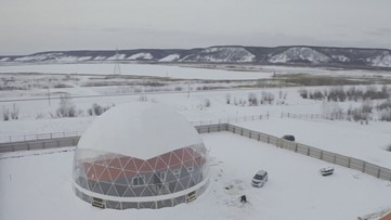 Russian Family Lives Under Dome to Test out Experimental Living Research