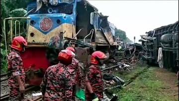 Video Captures Horrific Crash As Two Trains Collide Head-On Killing  At Least 16 People