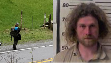 False Alarm: Appalachian Trail hiker was armed with a guitar, not a machete