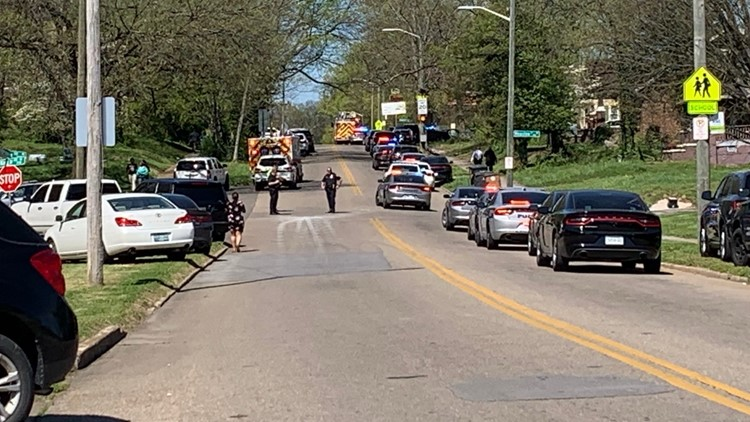 Multiple victims, including Knoxville police officer, after shooting at high school