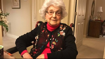 'I'm just livin' | Woman turning 109 years old says she still drinks a glass of wine on Fridays