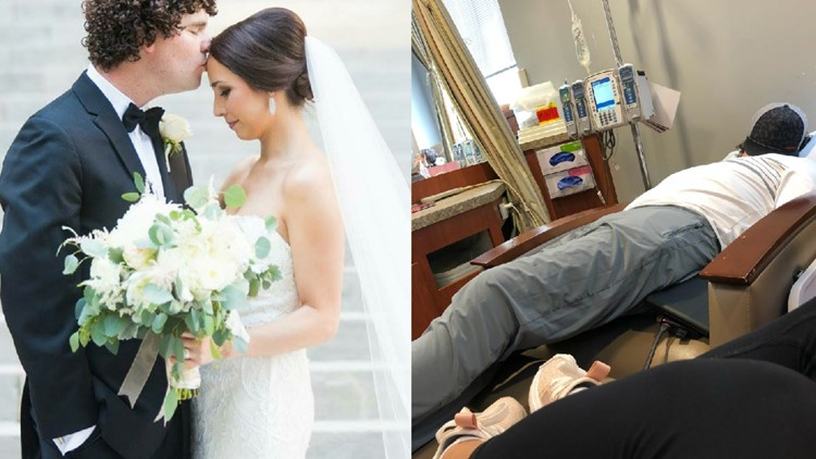 He was set to marry his high school sweetheart in three weeks. Then he got diagnosed with Stage 4 colon cancer