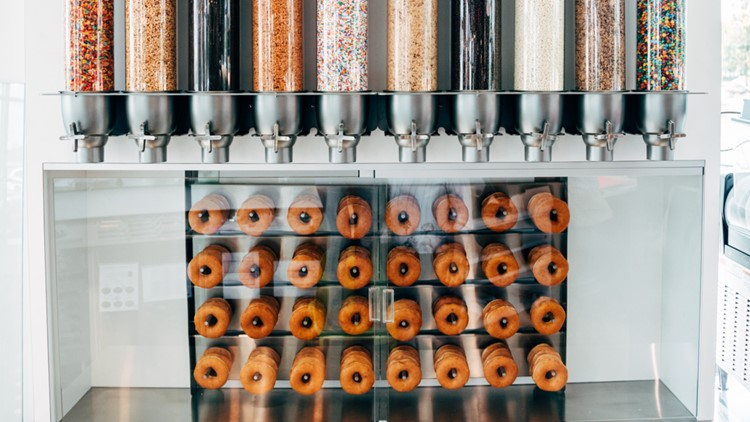 New Krispy Kreme shop will allow you to customize your own doughnuts