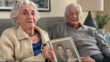 Maine couple 'still getting used to each other' after 75 years of marriage
