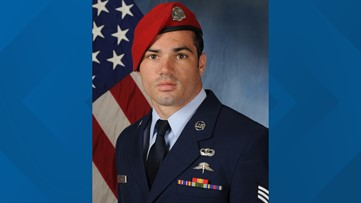 Air Force identifies Dallas airman missing after incident over Gulf of Mexico