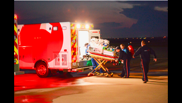 NICU babies flown out of storm zone to North Texas