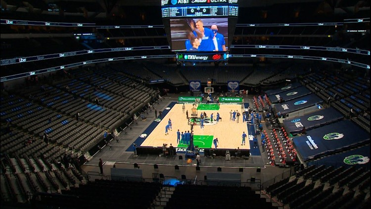 The Dallas Mavericks have stopped playing the national anthem before their games