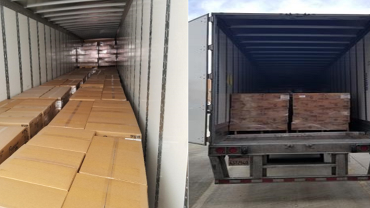 18,000 pounds of toilet paper found in stolen tractor-trailer in North Carolina
