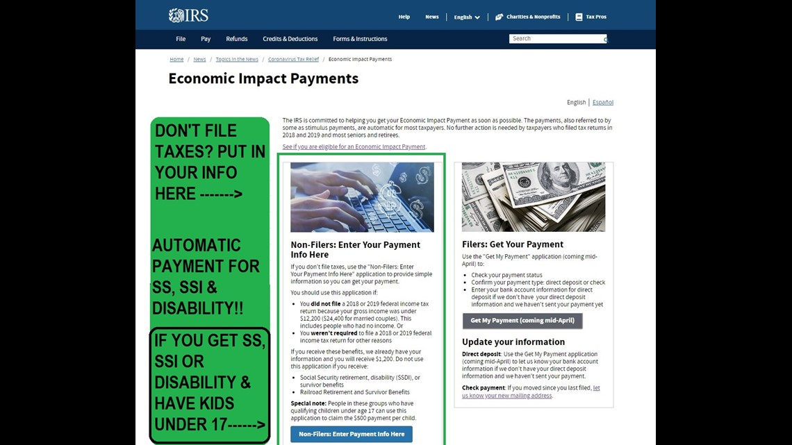 Stimulus Payment Timeline And On Your Bank Statement Ksdk Com