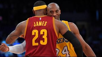 LeBron James pays tribute to Kobe Bryant in emotional Instagram post