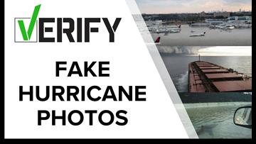 VERIFY: Fake hurricane photos and how to spot more