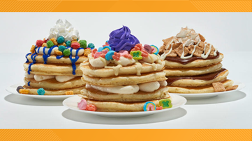 IHOP introduces cereal pancakes to its menu for a limited time