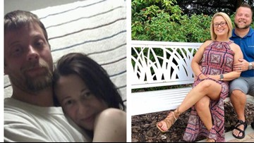 Couple who beat meth addiction shares powerful before-and-after photo