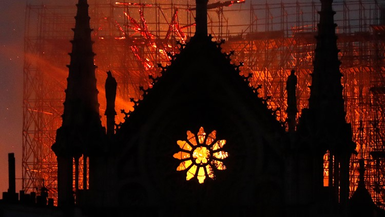 The Notre Dame Cathedral has seen its fair share of tragedy — and it's always been rebuilt