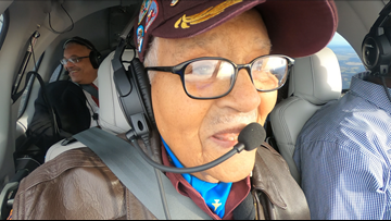 On his 100th birthday, Tuskegee Airman wants to inspire the next generation of pilots