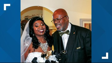 Father walks his daughter down the aisle after getting kidney transplant just in time