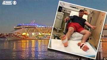 Louisiana couple's honeymoon cruise turns into medical nightmare