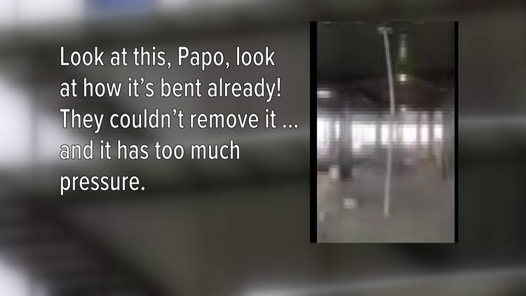 'This is seriously bad' Video shows concerns days before Hard Rock hotel collapse