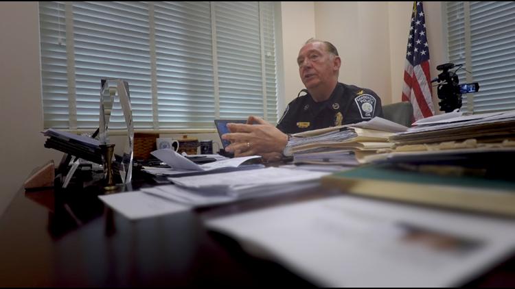 Garden City Police Chief David Lyons