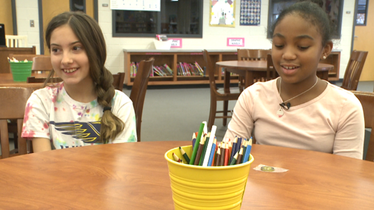 Fifth graders honored for helping save teacher during medical emergency