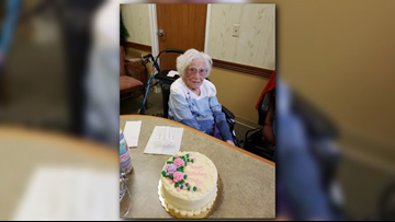 Michigan woman celebrates 107th birthday on New Year's Day
