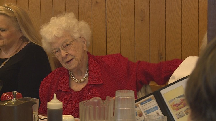 At 106, Coopersville woman reaches some 'rare air'