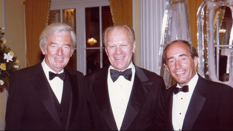 Rich DeVos, President Ford and Jay Van Andel